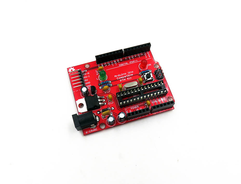 Arduino-Compatible PTH Board [Options] - w/o IC