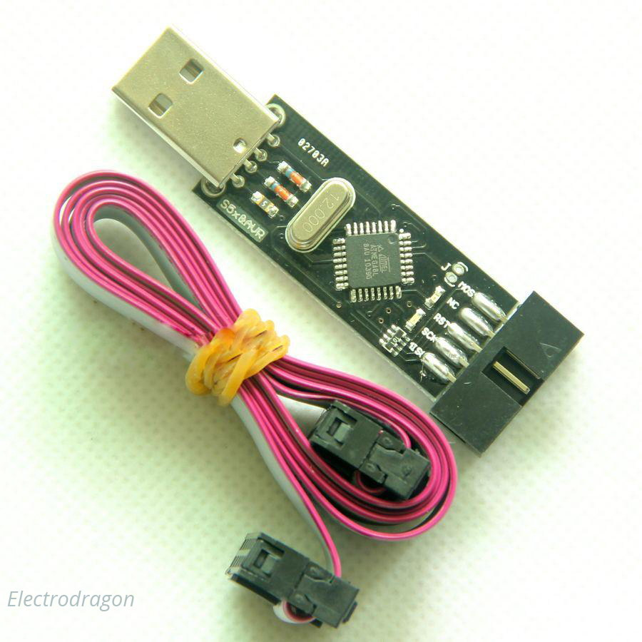 Usbasp Programmer Double Power 33v 5v Electrodragon Serial Avr And Pic