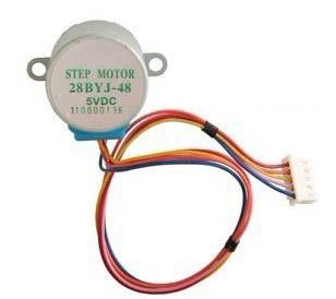 *4-Phase & 5-Wire Stepper Motor (28BYJ-48-5V, 5V) on