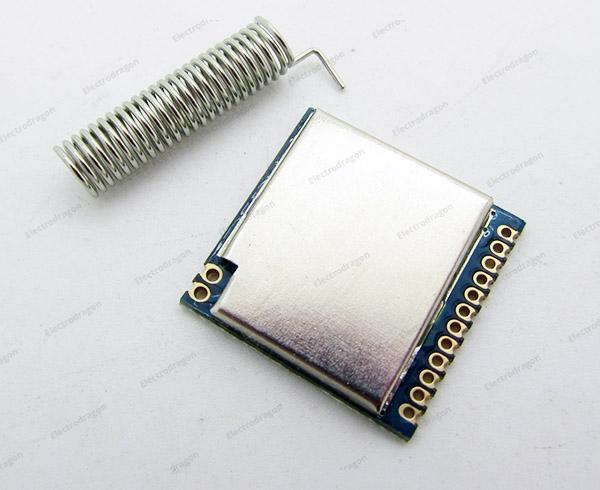 SI4432 Wireless Transceiver (433M,1 5KM Range)