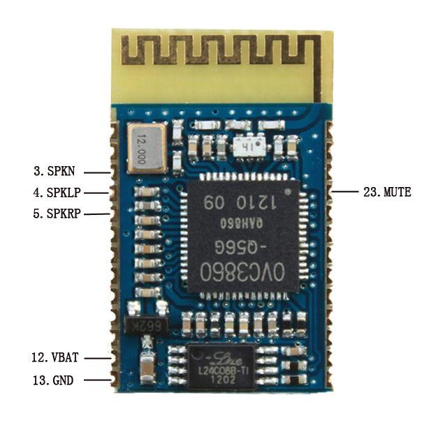 [Retired]PKB Bluetooth Audio Module (Stereo)