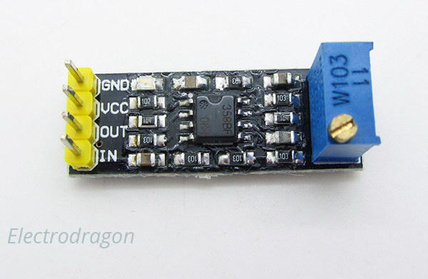 LM358 Operational Signal Amplifier