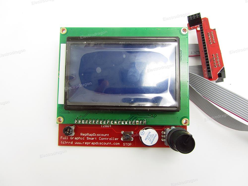 Ramps 12864 Full Graphic Controller Board (Reprap)