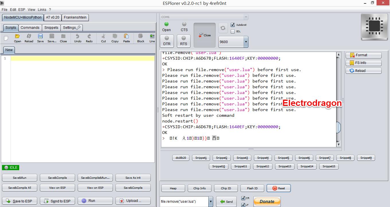 Amica Customer Service >> NodeMCU LUA Amica R2  ESP8266 Wifi Board - ElectroDragon