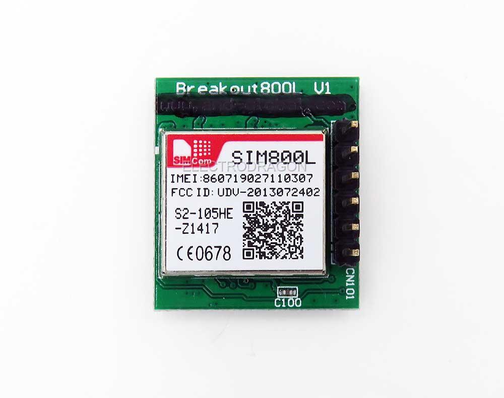 SIM800L-Mini Dev Board (GSM/GPRS)