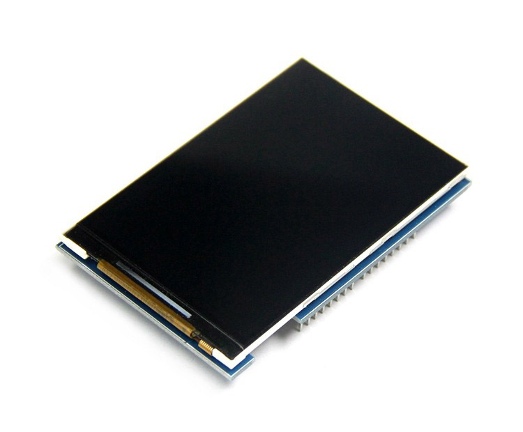 3 5'' 320x480 TFT LCD Arduino Shield, 8-bit Parallel, ILI9486