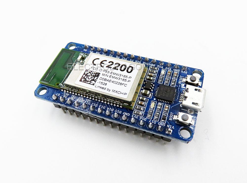 WiFiMCU Wireless WiFi DEV Board, Based on Lua EMW3165