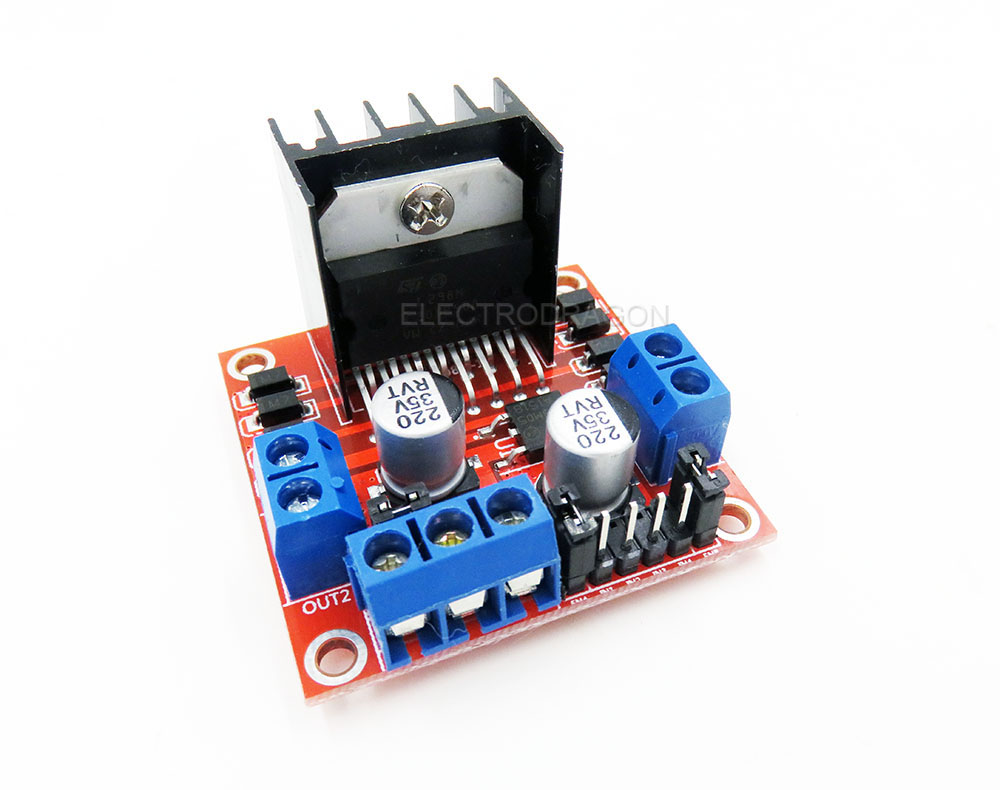 L298n Stepper Motor Driver Board R2 C Arduino Supported Electrodragon Dual Controllercircuit
