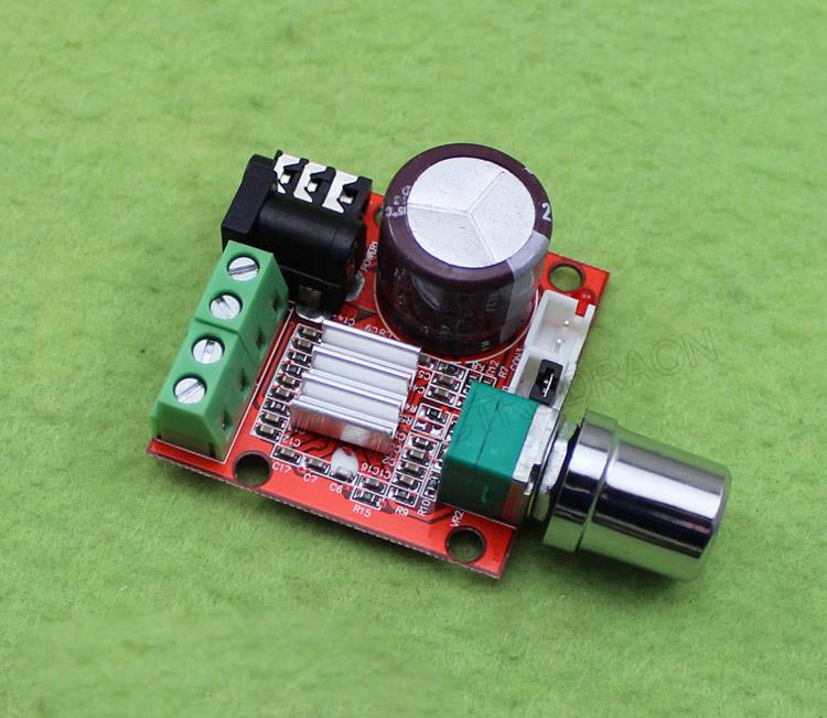 2*10W Dual Channel HIFI Mini Audio Amplifier PAM8610