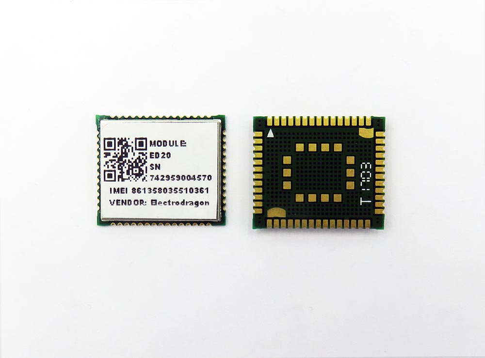 ED20 GSM/GPRS+GNSS Module, Based on MT2503