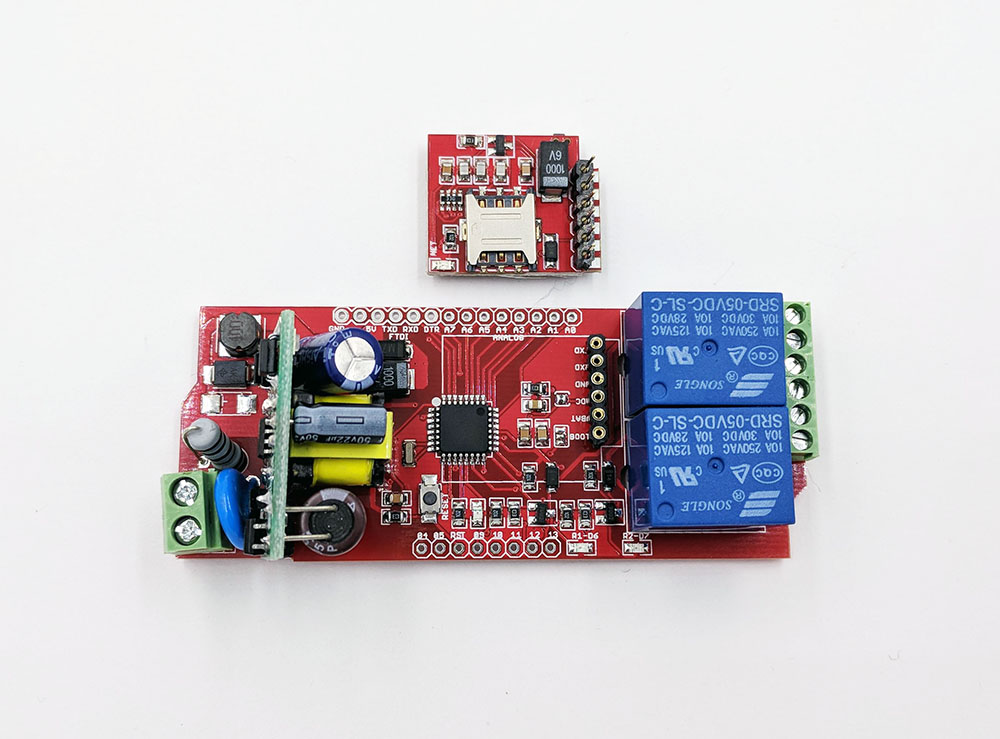 GPRS Relay Control Board, VAC IN, Arduino Compatible (Not Include Module)