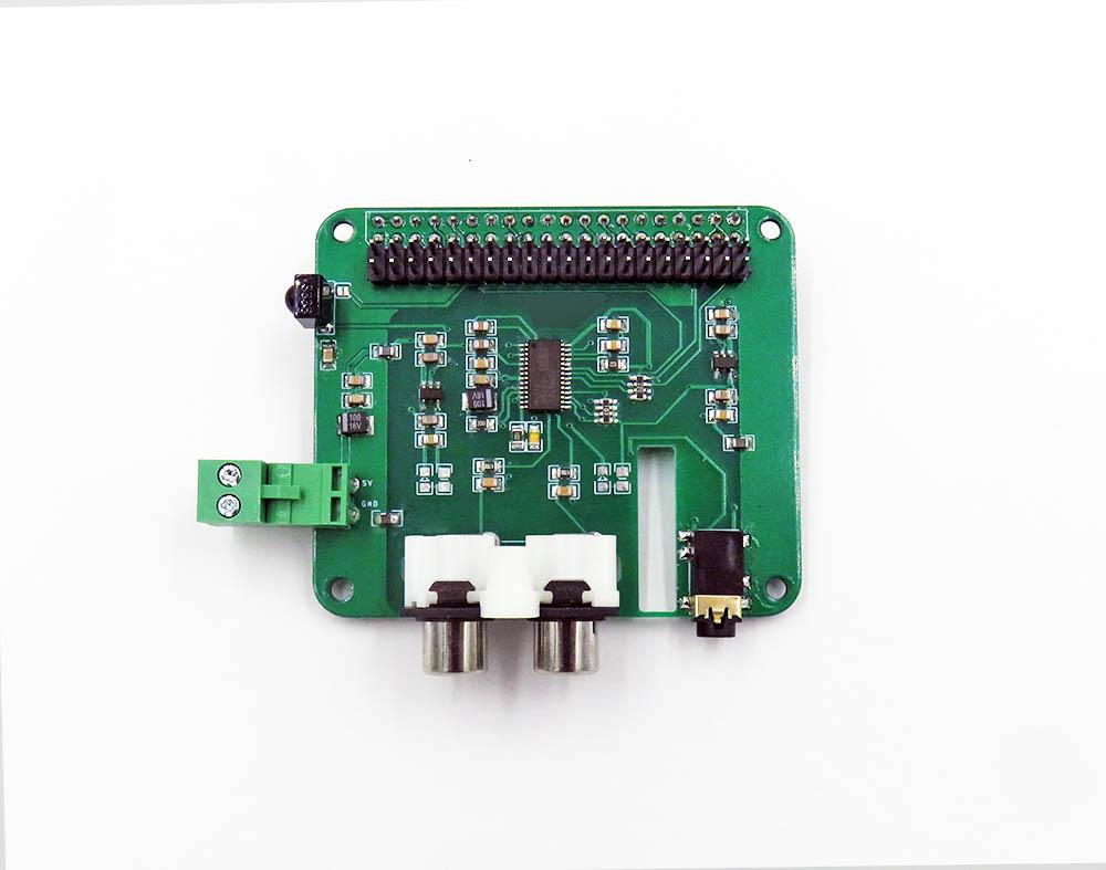 HIFI Audio Play Shield for Raspberry Pi, PCM5122 I2S DAC R2
