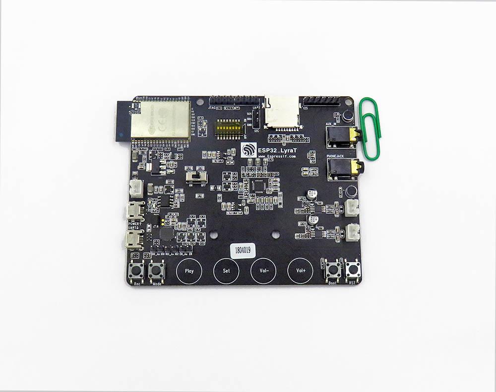 ESP32-LyraT Audio Development Board, ESP32-WROVER