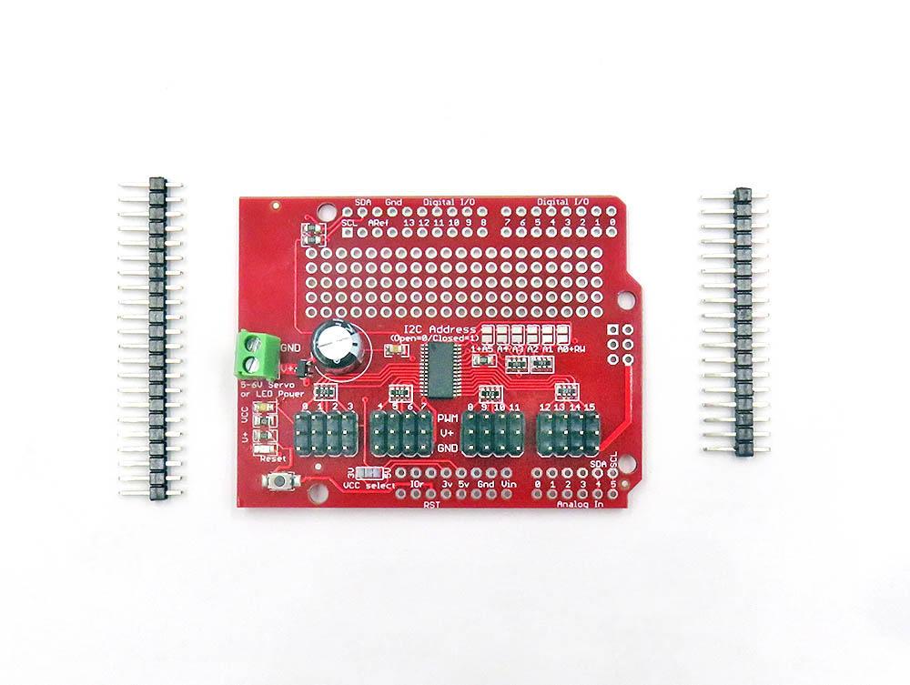 PCA9685 Arduino Servo Shield