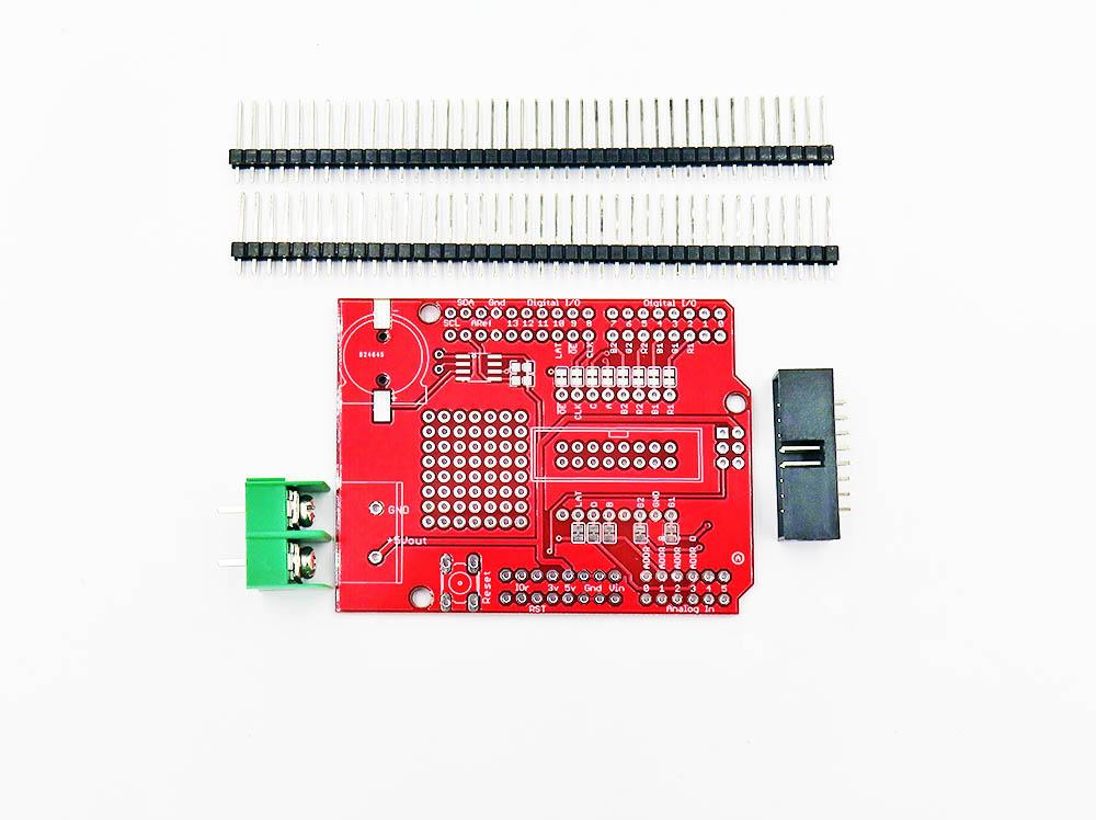 RGB LED Matrix Panel Drive Board Kit, Arduino Shield